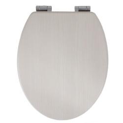 Deska sedesowa wolnoopadająca MDF Biały dąb