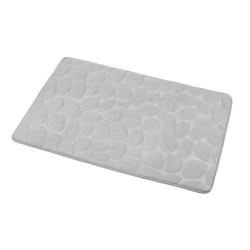 Dywanik łazienkowy kamienie szary