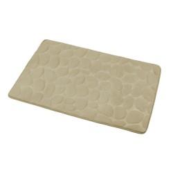 Dywanik łazienkowy kamienie beżowy