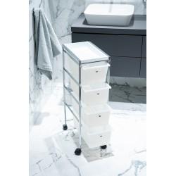 Regał łazienkowy z szufladami