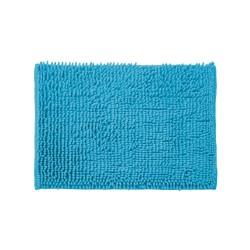 Dywanik łazienkowy 60 x 40 cm niebieski