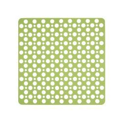 Mata łazienkowa antypoślizgowa zielona