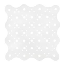 Mata łazienkowa antypoślizgowa biała
