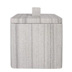Pojemnik kosmetyczny Q-BATH marmur