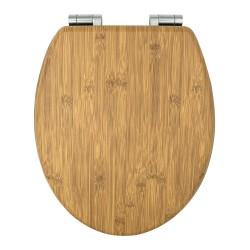 Deska sedesowa wolnoopadająca MDF Bamboo