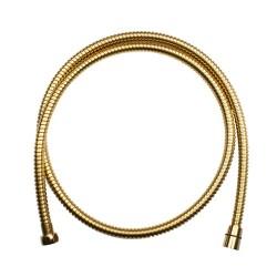 Wąż prysznicowy złoty