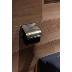 Uchwyt na papier toaletowy złoto antyczne